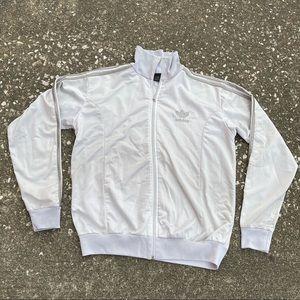 Adidas track jacket Grey